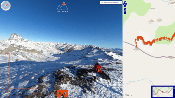 Esquí de travesía Canal Roya
