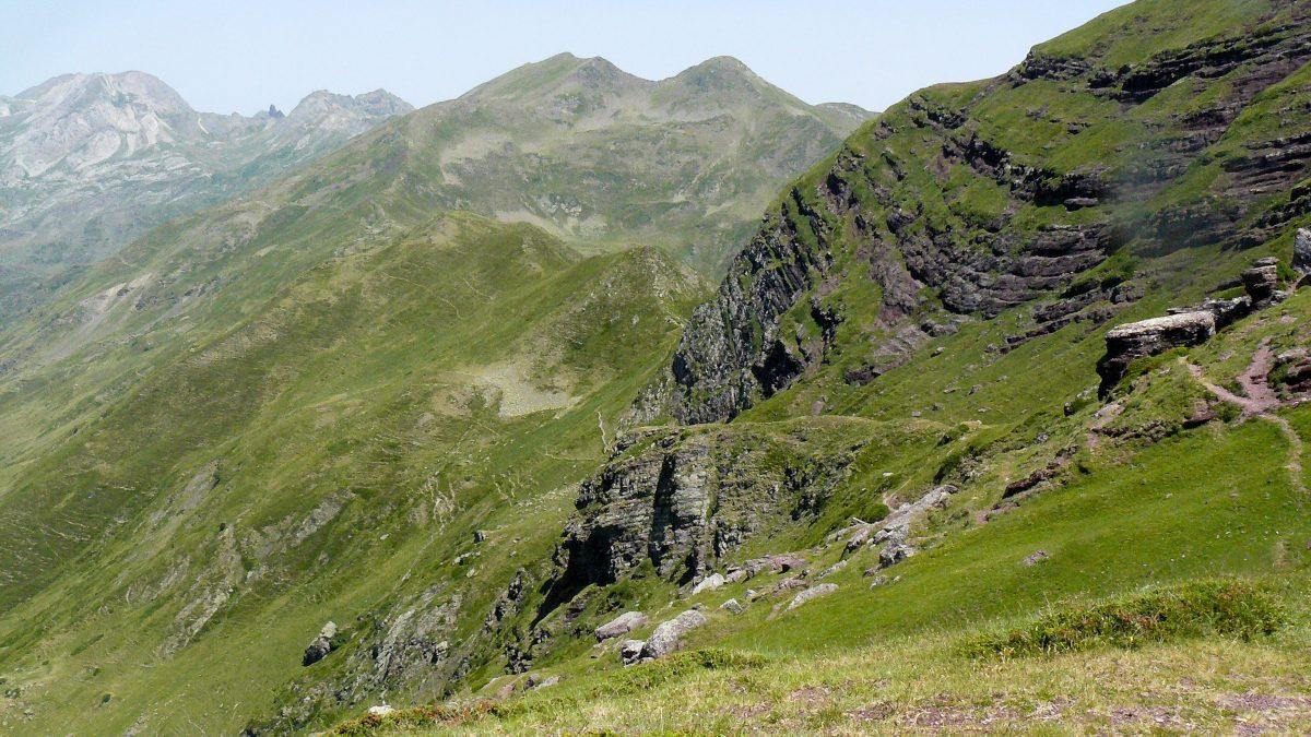 Vuelta Midi d'Ossau. Sendero Col d'Ayous - Col d'Aas de Bielle