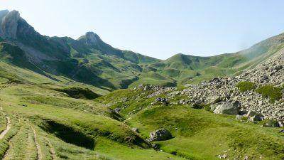 Vuelta Midi d'Ossau. Col de Suzon