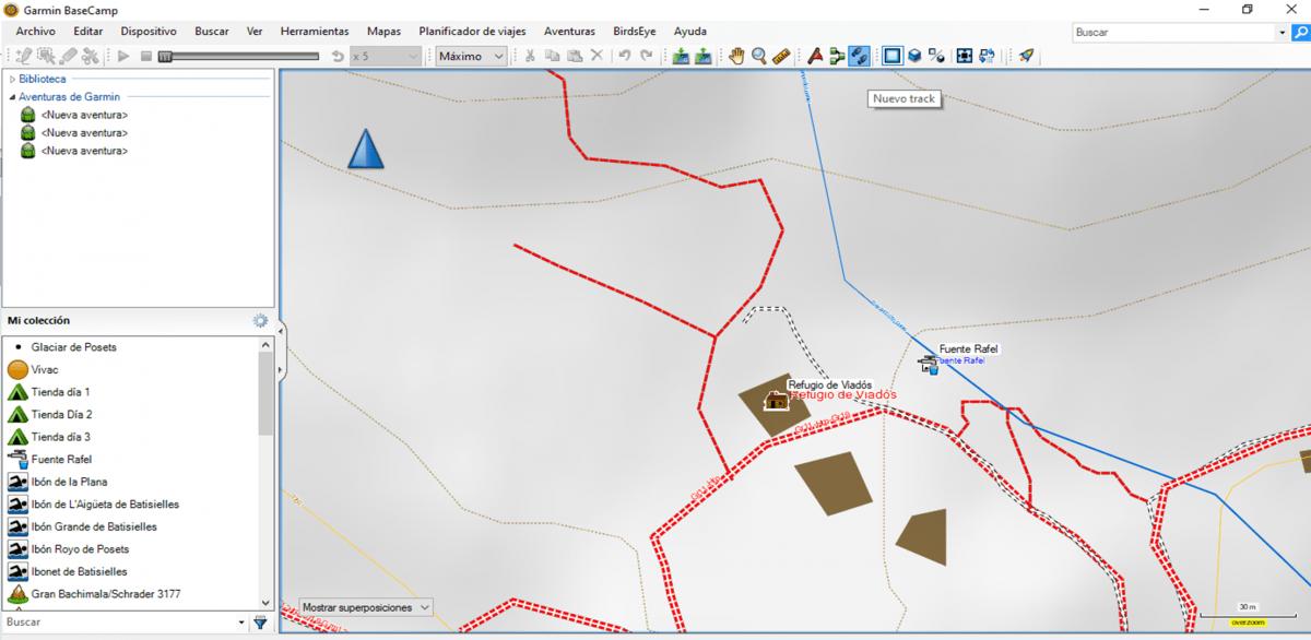 BaseCamp Nuevo Track
